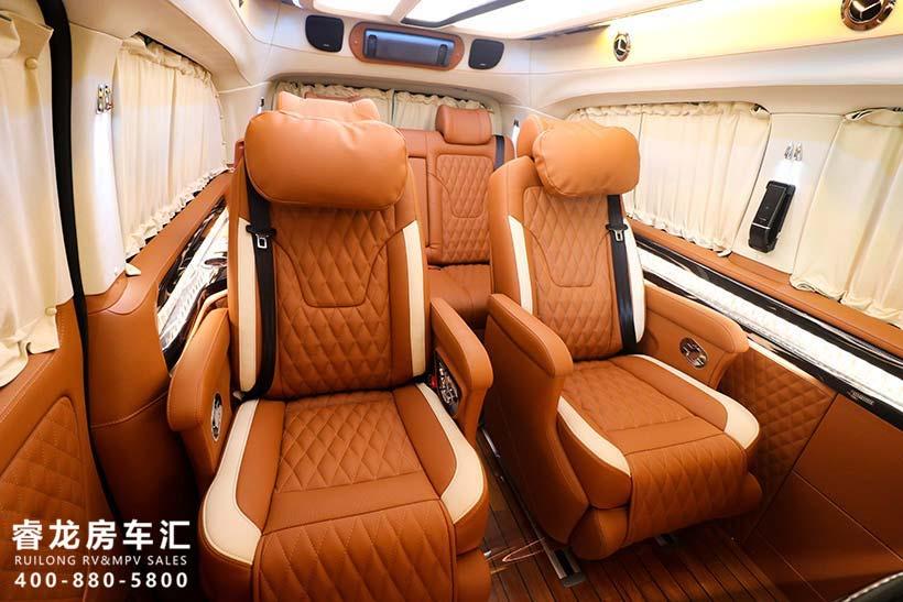 广州奔驰威霆高顶改装车价格 国六标准7座全隔MPV