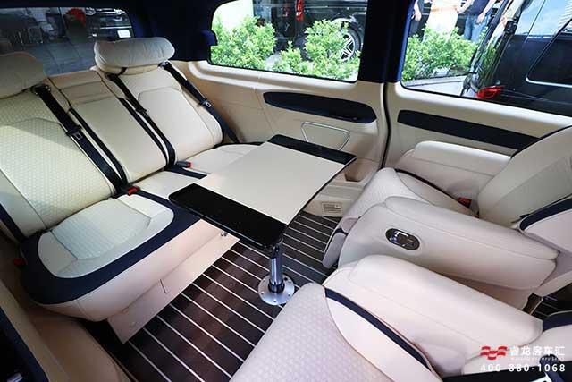 进口奔驰威霆改装房车的基础 是内饰参数和配置