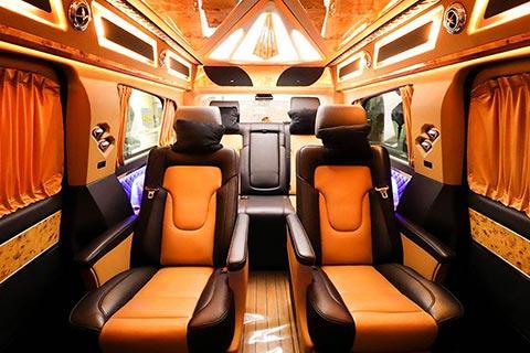 奔驰宾法VK9豪华版七座商务车型广州最低报价和图片