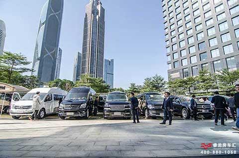 广州金融大厦房车展 超低房车价格豪华商务车展览会