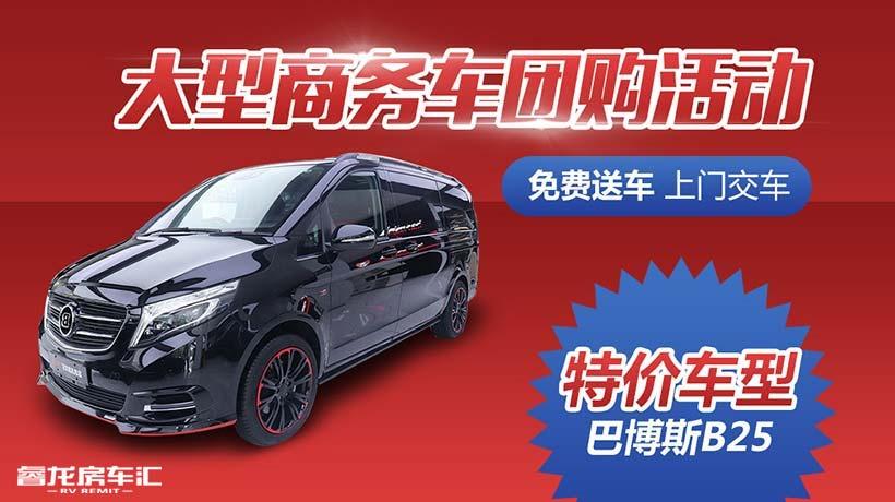 畅享舒适商务生活 巴博斯V级商务车b25价格和图片