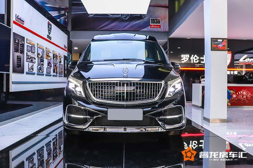 智能科技移动办公的MPV头等舱座驾:v260L豪华商务车